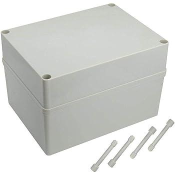 mbition Caja de Conexiones IP66 Impermeable Master Plug Exterior a Prueba de Polvo Universal eléctrico Proyecto Enclosure 7.9