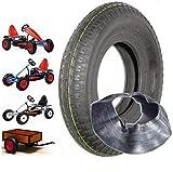 Kong Tire 4 Stück Berg Reifen inkl. Schlauch 480/400-8