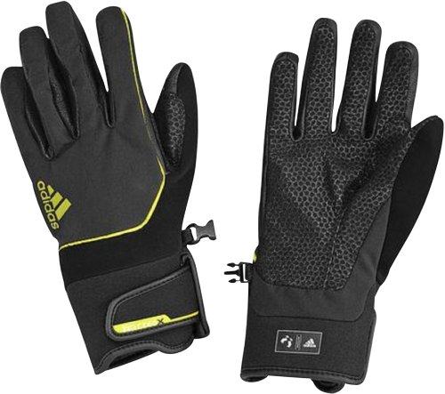 adidas Performance–fútbol–Guantes TX Softs, color negro, tamaño M