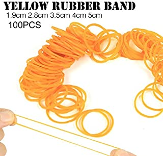 BianchiPatricia 100pcs/pack Rubber Bands For School Office Household Package Rubber Ring