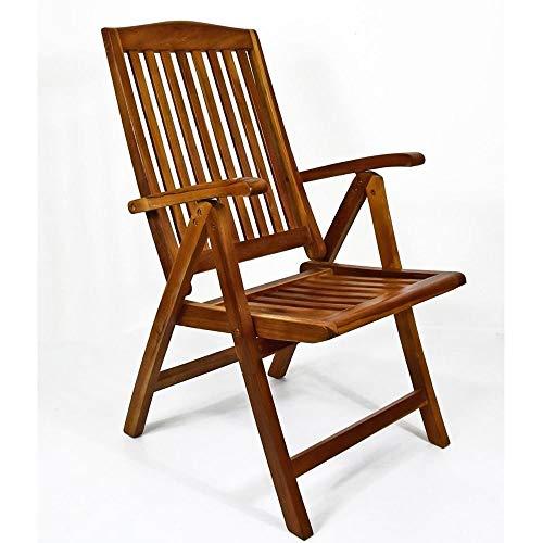 Sedia in legno teak da giardino barcellona