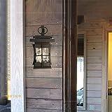 Led Outdoor Wasserdichte Retro Wandleuchte, Einfache Gartenlampe Outdoor Single Head Wandleuchte Türpfosten Balkon Wandbeleuchtung Warmes Licht
