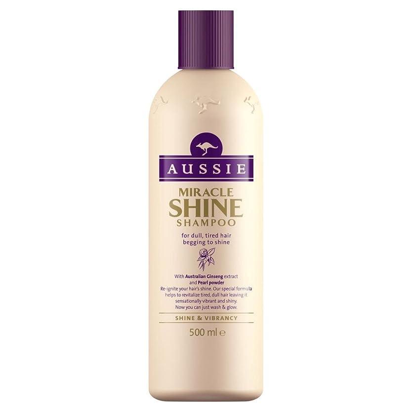 ファックス荷物囲まれたAussie Miracle Shine Shampoo (500ml) オージー奇跡の輝きシャンプー( 500ミリリットル) [並行輸入品]