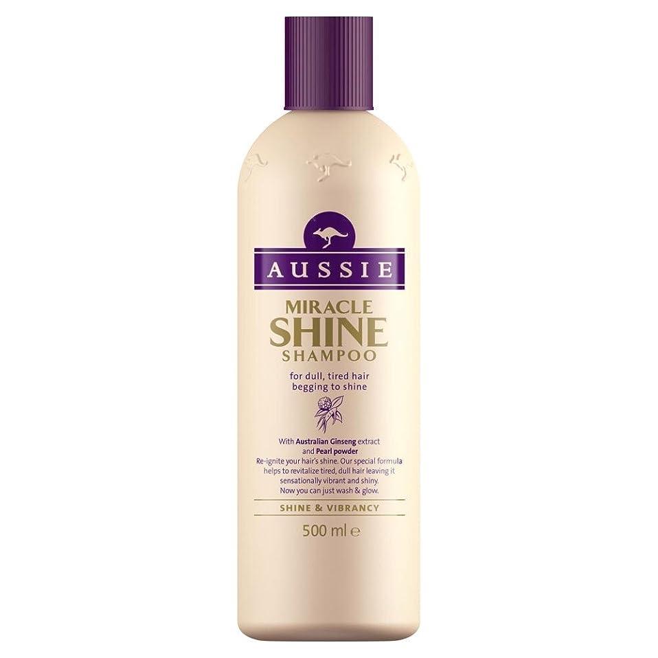 スクラップブック会計士完璧Aussie Miracle Shine Shampoo (500ml) オージー奇跡の輝きシャンプー( 500ミリリットル) [並行輸入品]