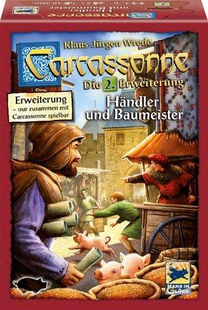 カルカソンヌ拡張セット2 商人と建築士 (2016年版) (Carcassonne: Händler und Baumeister) ボードゲーム [並行輸入品]