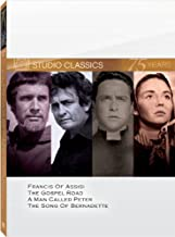 Classic Quad Set (Francis of Assisi / The Gospel Road / A Man Called Peter / The Song of Bernadette) by Jennifer Jones
