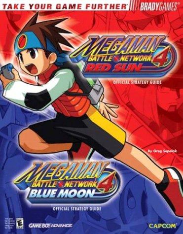 MegaMan(tm) Battle Network 4: Red Sun & Blue Moon Official Strategy Guid (Official Strategy Guides (Bradygames))