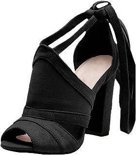 Compensées sandales femme Wide Fit robe d/'été Talons Hauts Party Chaussures à lanières taille