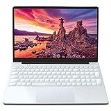 MEBERRY Ordenador Portátil 15.6'' FHD 8GB DDR4 RAM, 256GB SSD Ultradelgado Windows 10 Pro Laptop, 4 Núcleos 1.5 GHz | IPS 1920 x 1080 | 2.4G/5G WiFi | Bluetooth 5.0 | HDMI | USB 3.0 / 2.0 - Plata