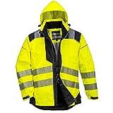 Portwest PW3 Hi-Vis Winter Jacket - T400