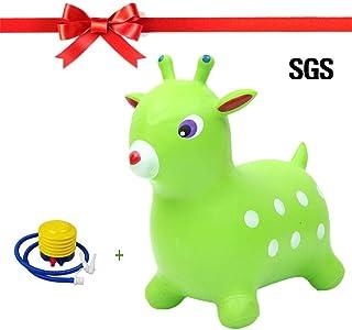 PROKTH - Caballo hinchable para saltar - Juguetes Hinchable para niña y niño - Pelotas saltarinas para niños - 1pcs