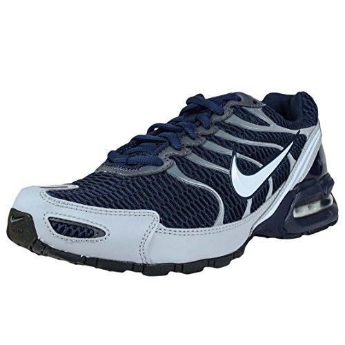 NIKE Mens Air Max Torch 4 Running Shoe Obsidian/White/Wolf Grey/Dark Grey Size 9.5 M US