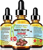 Brazilian BURITI FRUIT OIL 100% Pure / Natural / Cold Pressed Carrier Oil / Undiluted. For Face,...