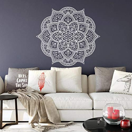 Mandala Etiqueta Engomada De La Pared Flor Mandala Etiqueta Engomada De La Pared Mandala