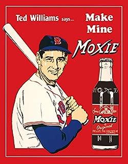 Desperate Enterprises Ted's Moxie Tin Sign, 12.5