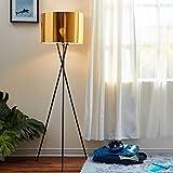 Lampada da terra LED illuminazione moderna treppiede oro VersanoraVN-L00001-EU