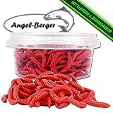 Angel-Berger WDB Amino Live Baits lebend Köder Made Wurm (Made Rot)