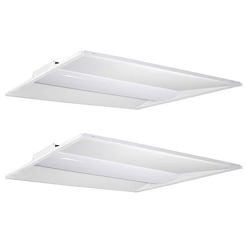 2x4 Led Light Fixture Amazon Com