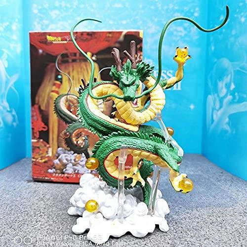 Anime Dragon Ball Estatuas Figura Animaciones Coleccionables Personajes Modelo Adornos Figura Super Saiyan Estatuas Dragon Ball Wish 2da Generation Shenlong