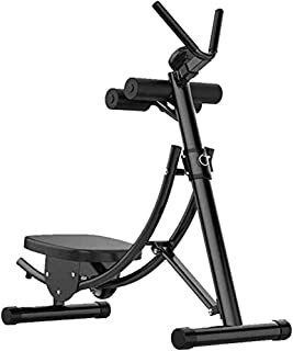 YAJIAN Fitnessutrustning, multifunktion AB Maskin - Fällbar Vertikal Roller Coaster Abdominal Training Fitness Utrustning,...