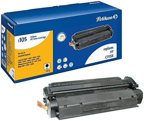 Pelikan Toner ersetzt HP C7115X (passend für Drucker HP LJ 1200/1220, 3300/3380 - HC; Canon LBP 1210)