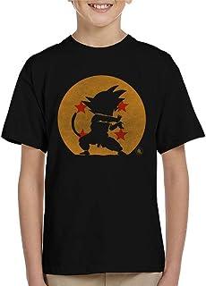 Cloud City 7 Kame Hame Goku Silhouette Dragon Ball Z Kid's T-Shirt