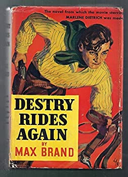 Hardcover Destry Rides Again. Book
