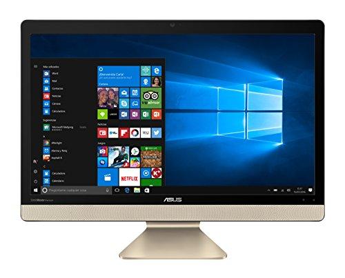 Asus V221ICGK-BA030T, computer desktop all-in-one, Intel Core i3-7100u, 8GB di RAM, HDD da 1TB, Nvidia GeForce 930MX, Windows 10Original, nero,tastiera QWERTY spagnola