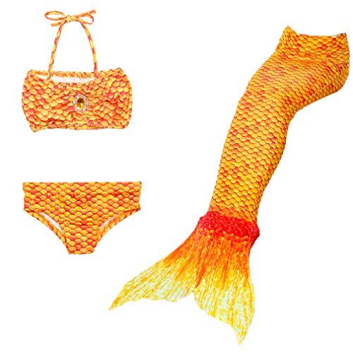 DUBAOBAO Mooi strand Zeemeermin Staart, Zeemeermin pak bikini staart, Strand surfen vakantie feest zwemmen badpak, Zwemkleding