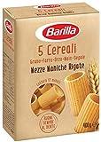 Barilla Pasta Mezze Maniche Rigate 5 Cereali, Pasta Corta di Semola di Grano Duro, Orzo, Farro, Mais e Segale, 400 gr