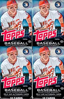 4 (Four) Packs - 2014 Topps (Series 1) Baseball Hobby Packs (10 Cards per Pack) - Possible Xander Bogaerts, Billy Hamilton, and/or Kolten Wong Rookie Cards!!!