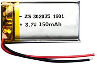 $69 » 3.7V 150mAh Li-ion Battery for Bluetooth, GPS, mp3, mp4, Toys, Speakers 4pcs