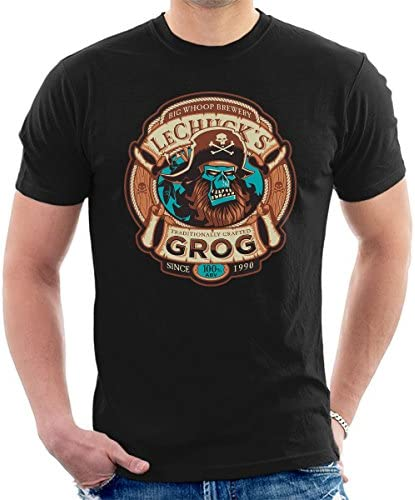 Ghost Pirate Grog Monkey Island LeChuck Men's T-Shirt