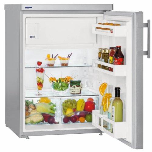 Réfigérateur Table top Liebherr TPESF1714-2 - Table top - 145 litres - Réfrigerateur/congel : Froid statique / Froid statique - Dégivrage automatique - Inox - Classe A++ / Pose libre