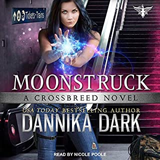 Moonstruck audiobook cover art