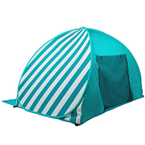 JUNYYANG Beach Tentoutdoor 3-4 People Fully Automatic Sun Shelters No-Build Quick Open Protection Wild Portable Children