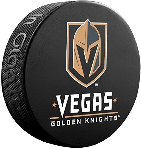 Vegas Dorado Caballeros Oficial Basic Souvenir Hockey Puck