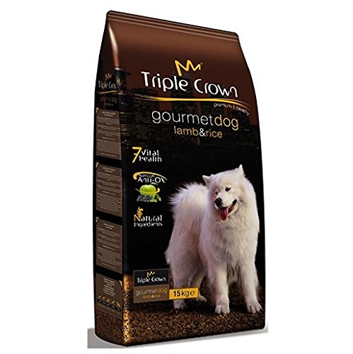TRIPLE CROWN Pienso Gourmet Dog 3Kg para Perros Adultos
