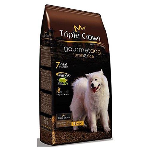 TRIPLE CROWN Pienso Gourmet Dog 15Kg para Perros Adultos