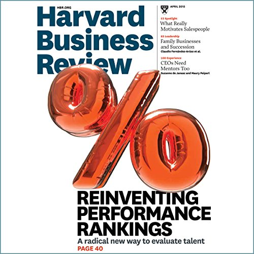 Harvard Business Review, April 2015 audiobook cover art