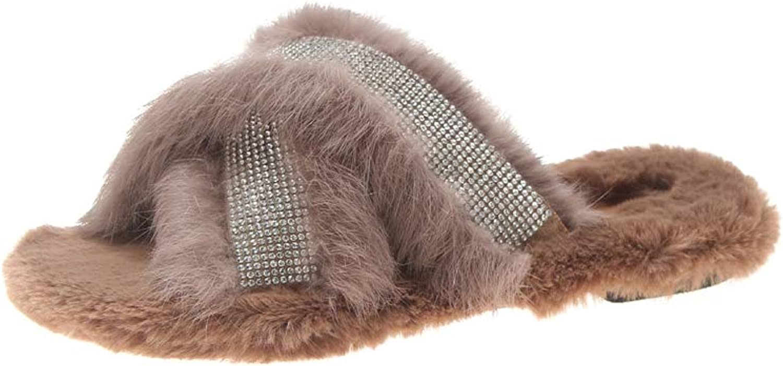 BeautyOriginal Toddler Boys Girls Cotton Warm Winter Non-Slip House Slipper Women's