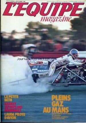 EQUIPE MAGAZINE (L') [No 32] du 06/09/1980 - LA PETITE BETH - BASKET AU PAYS DES BOUDDHAS - LAUDA PILOTE D'AVION - PLEINS GAZ AU MANS.