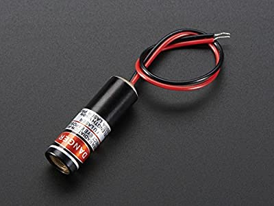 Adafruit Line Laser Diode - 5mW 650nm Red [ADA1057]