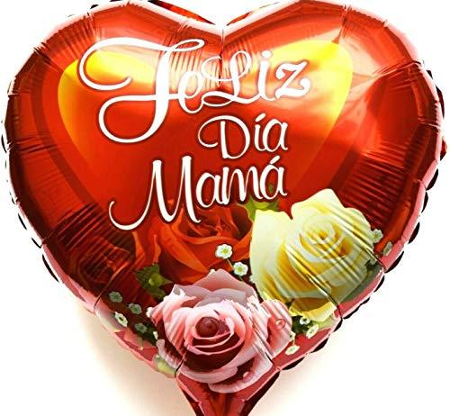 SauParty Helio Globo Día de la Madre Sorpresa Regalo Feliz Dia Mama Amor