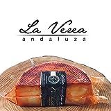 Queso Curado Artesano con Pimentón (Elaborado a mano) 500-600gr.La Verea Andaluza 'Oro andaluz' - Leche Cruda 100% Vaca (Vacas montbeliarde/frisonas)
