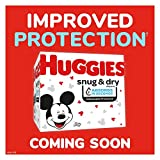 Huggies Snug & Dry Baby Diapers, Size 1, 44 Ct