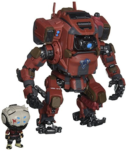 Funko Pop Titanfall 2 Collection - Includes Sarah and Mob 1316 - Bring The Action Game into Reality with These Figurines - Functional Control Compartment for Sarah - Detailed Design,Multi-colored,6'