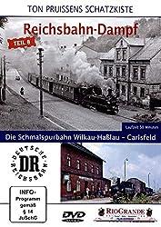 Ton Pruissen - Reichsbahn-Dampf Teil 8 - Die Schmalspurbahn Wilkau-Haßlau - Carlsfeld