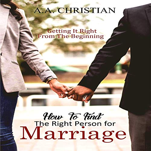 How to Find the Right Person for Marriage audiobook cover art
