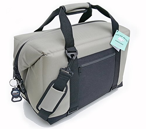 Polar Bear Coolers - Solar Bear Line - Quality Like No Other from The Brand You Can Trust - See Touch & Feel The Polar Bear Difference - Patent Pending - 24 Pack